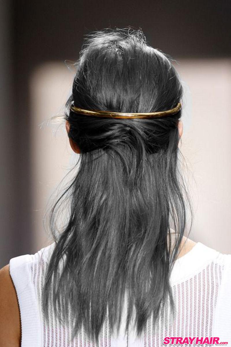 metalic gunmetal gray hair color