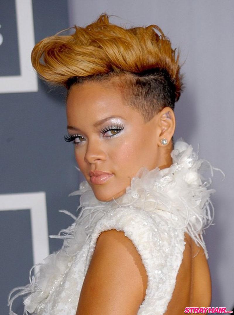 pompadour hairstyle rihanna