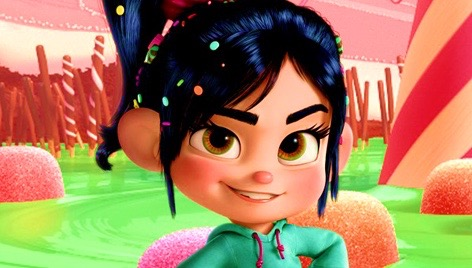 wreck it ralph vanellope candy hair