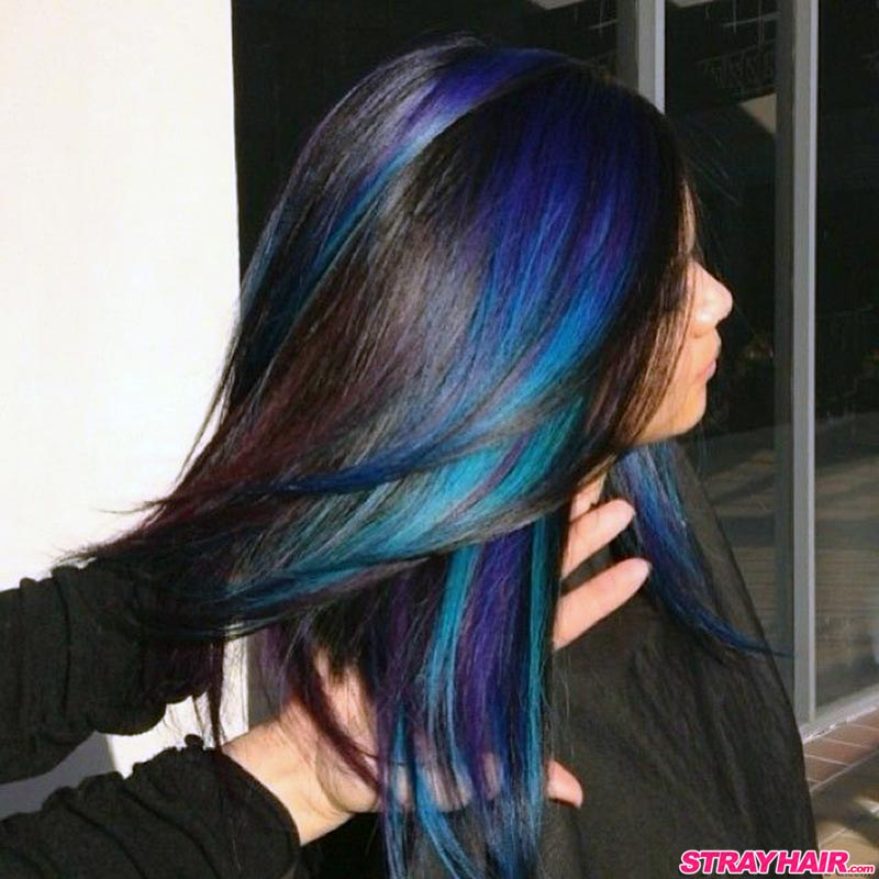 Oil Slick Hair Color Is One Of The Most Amazing Things You Ve Ever